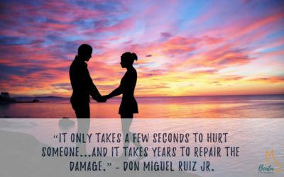 It only takes a few seconds to hurt someone